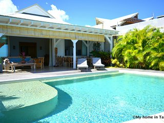 Villa Maere - Tahiti - luxe, piscine au bord du lagon à Punaauia - 2 pers