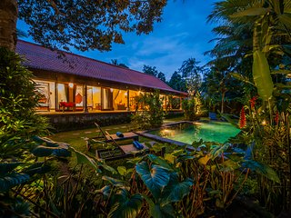 Jungle View 3 BR Aashaya Villa Ubud, Private pool