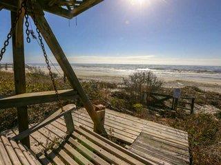 Enjoy our private beachfront decks!