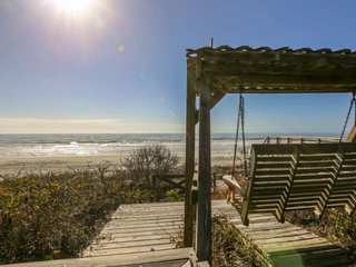Smell, hear & feel the ocean from this beach bungalow with private multi-level d