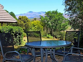 View from braai patio