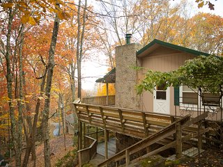 Cabin in the Woods - Pet Friendly Mountain Escape with a view!