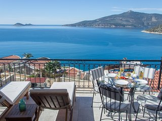 Enjoy the panoramic views of the Turquoise Coast from your private balcony