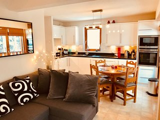 Beautiful apartment next to the piste in Portes du Soleil ski area near Morzine