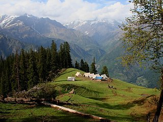 Himachal camp - Tented Camp 2