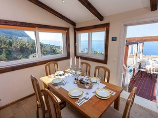 Holiday flat ORANGE with whirpool with wonderful sea/mountain view
