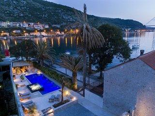 Villa Dubrovnik Delight – Luxury sea front wellness villa near Dubrovnik