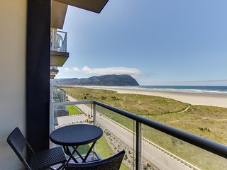 Oceanfront condo with gorgeous beach views, shared pool at Sand & Sea