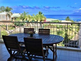 Appartement Turoa - Punaauia- Tahiti - 2 ch, piscine et vue mer - 5 pers