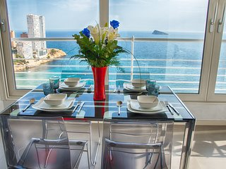 Benidorm Luxury penthouse Singles and Couples 1st line levante beach