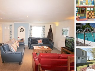 JACs Lodge, 4 bedroom/3 bedroom sleeps 8 with full use of facilities, Newquay