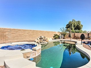 NEW! 4BR Maricopa Home w/Pool, Spa & Putting Green