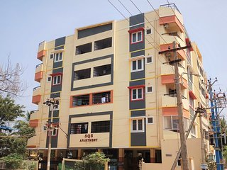 SQS Apartment, Luxury 2BHK(Flat No : T4) 5 min drive from New Bustand