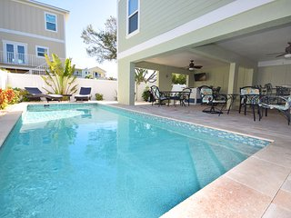 Stunning 3 Bedroom Home just 1/2 block to the Beach or Bay with Awesome Views!
