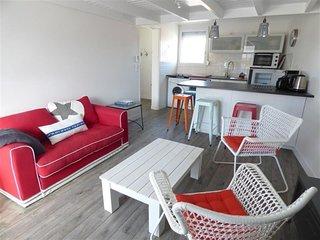 Bel appartement T2 mezzanine pour 4 personnes, proche plage