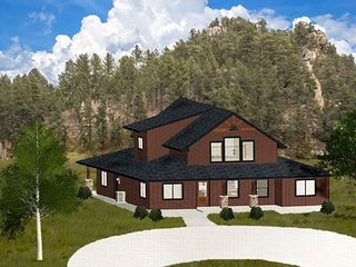 Black Hills Vacation Home-*New*Diamond Spur Lodge