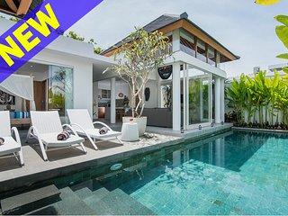 Stunning 2 Bedroom Villa Near Finn's Beach Club Canggu;