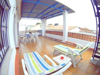 Apartamento para 6pers con gran terraza