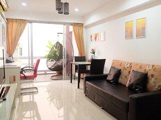 Sunset 2 Beds,2 baths,kitchen;city center,Lumpini park/MRT