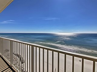 NEW! Oceanfront 3BR Panama City Beach Resort Condo