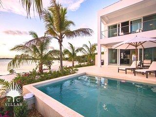 Villa Positano on the Beach, a 1BR vacation rental on Sapodilla Bay Beach