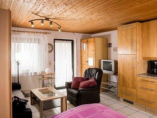1 Zimmer Ferienwohnung mit Kuchenzeile und Bad