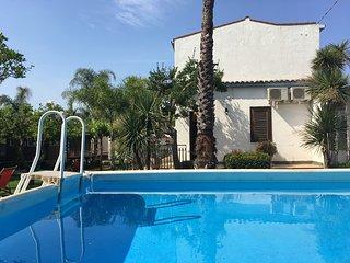 Villa Luna Rossa - Beach Front Private Villa with Garden - By SunTripSicily