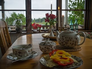 The Yellow Cabin - Pitea
