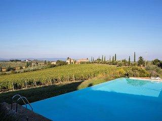 5 bedroom Villa in Castellina in Chianti, Tuscany, Italy : ref 5226860