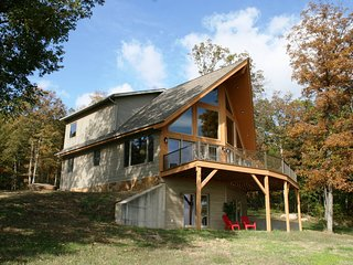 Rock Ridge boasts a 40 mile view on the Wine Trail in the Shawnee Ntl. Forest