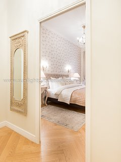 Dreams will certainly be sweet in any of the three well-appointed bedrooms.