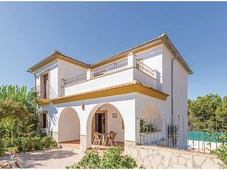 4 bedroom Villa in Iznájar, Andalusia, Spain : ref 5538257