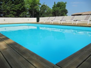 Recently renovated large holiday home, private pool, views & close to village