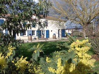 Chambre : L'Estuaire. Chambre d'hôtes La Closerie du Chêne Bleu