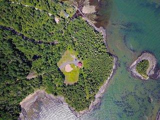 Villa les 2 Îles 8 personnes presqu'ile plage privé  - Les Chalets Spa Canada