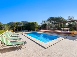 ( 15% discount throughout ) PRIVATE VILLA WITH PRIVATE POOL AND MOUNTAINS VIEWS