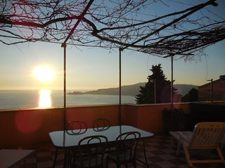 Wonderful independent house with amazing view on the Tigullio Gulf