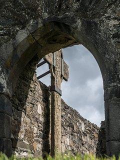 Ray church- the tallest single stone cross in Ireland