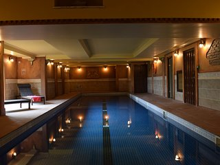 Swimming Pool.Part of on site Health Club Luxury Package from £100.00 per week charged locally