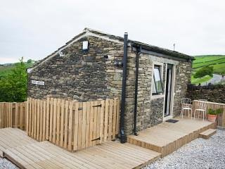 Belle Vue Barn Holiday Cottage BedRoom 1, casa vacanza a Ripponden