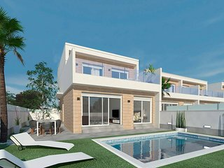 New 3 bedroom villa with big private pool, jacuzzi, waterfall