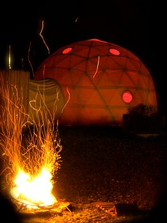Dome by the firepits