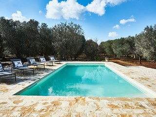 Relaxing surrounded by olive trees?