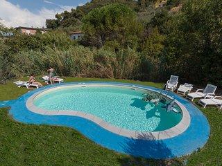 Appartamento con piscina a Lerici - Cinque Terre - B