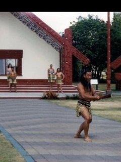 Maori village/ Marae