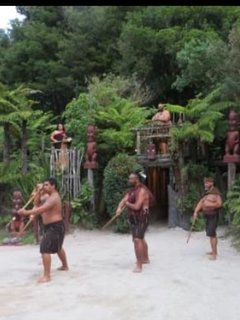 Tamaki tours Maori culture (5min drive to their office)