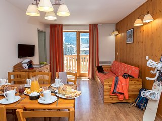 Amazing French Alps Apartment with Balcony for Low Rates!