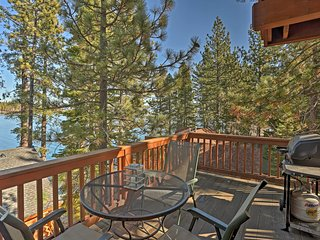 Lakefront Meeks Bay Apartment w/ Deck!