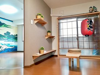 Shinjuku APT '3 Rooms for 4~8 Guests'
