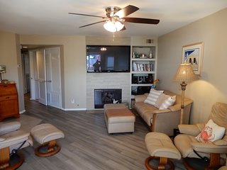 Living Room with  LCD TV and Dish Network Americas top 200